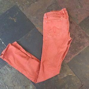Level 99 Rust Denim Jeans